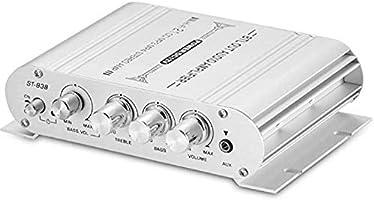 パワーアンプ 小型 2.1チャンネル HiFi ステレオ 音声増幅器