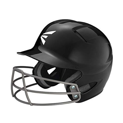 Easton Natural 3.0 TEE Ball Batting Helmet with Baseball/Softball Mask | TBall/Small | Black | Dual-Density Impact Absorption Foam | High Impact Resistant ABS Shell | BioDRI Treated Liner, Youth