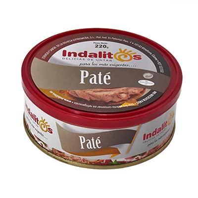 Indalitos – Pasté – dienblad 5 blikjes 220 g