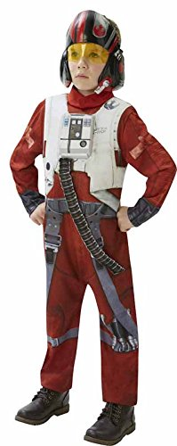 Star Wars - Disfraz de Xwing Fighter Deluxe para niños, talla L infantil 7-8 años (Rubie's 620265-L)