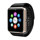 Smartwatch per iOS/Android Hands -Free Calls/Camera/Audio Activity Tracker / 0.8 MP / 64MB / gsm (850/900 /1800 /1900MHz) / MTK6261, Oro
