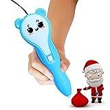 Neue Ausdruck Dreidimensionale Kreative Pinsel Weihnachten Kinderspielzeug 3D Drucker Niedrigtemperatur Lade 3D Druck Stift