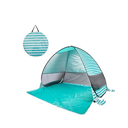 Strandzelt am Meer im Freien Sonne Menschen schnell geöffnet leichtes Baby Kinder Mehrzweck Indoor-Spiel Hauszelt Markise (Farbe : B)