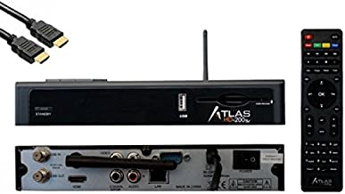 Cristor Atlas HD 200SE receptor satélite WiFi Doble Tuner