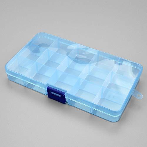 Starry Sky 1 stuk plastic 6/815 bagageboxen sleuven verpakking verstelbaar transparant gereedschapskist ambachtelijke sorganizer sieradendoos accessoires