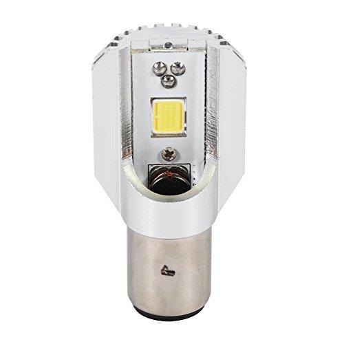 BA20D Blanca LED Faro Lámpara Lejos Y Cerca De La Señal De