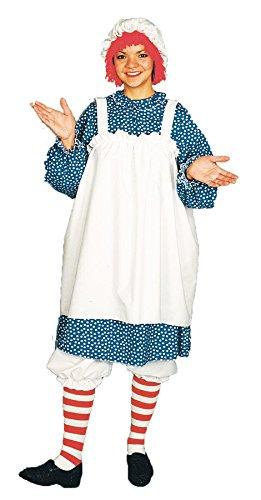 Raggedy Ann Costume - Adult Costume