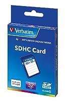三菱ケミカルメディア Verbatim SDHCカード 32GB Class4 SDHC32GYVB1