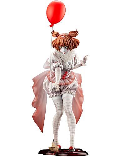 """イット""""それ""""が見えたら、終わり。 HORROR美少女 ペニーワイズ (2017) 1/7スケール PVC製 塗装済み完成品フィギュア"""