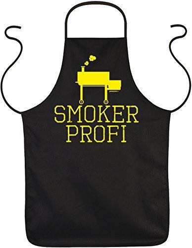 Veri zum Grill Grillen Schürze Geschenke Idee Männer Smoker Profi Kochschürze Latzschürze lustig mit Spruch Bedruckt Hobby Griller BBQ Grill Zubehör Accessoires :