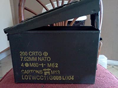 30 Cal Ammo Can Grade 1 (5 Pack)