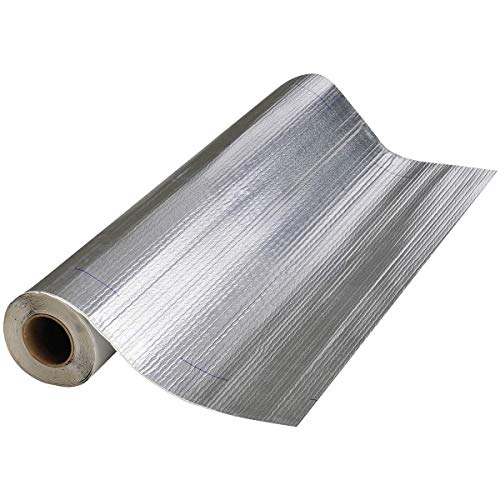 Mfm Building Product 50036 Mfm Peel & Seal Self Stick Roll Roof Ing (1, 36 in. Alum Inum), 36in. Aluminum