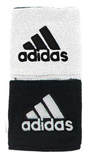 adidas Unisex Interval Reversible Wristband, White/Black Black/White, ONE...
