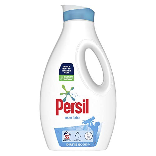Persil Non Bio Laundry Washing Liquid Detergent 53 Wash 1431 ml
