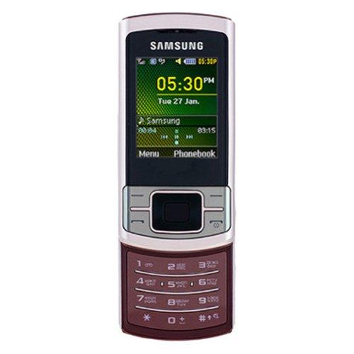Samsung C3050 - Teléfono móvil (Pantalla de 5,1 cm (2,0'), Bluetooth, cámara VGA), Color Rosa [Importado de Alemania]