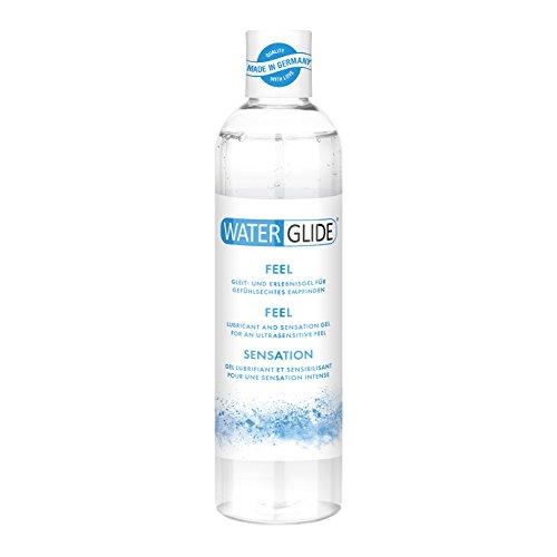 Gleitgel Waterglide Feel, wasserbasierte Langzeitwirkung, gefühlsechtes Empfinden, 300 ml