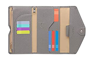 Zoppen Multi-purpose Rfid Blocking Travel Passport Wallet Ver 4
