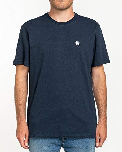 Element Crail-Camiseta de Manga Corta para Hombre, Azul (Eclipse Navy), M