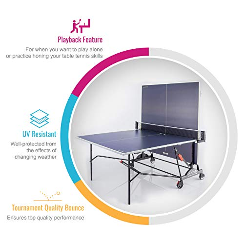 Kettler Axos 2 Table de Tennis de...