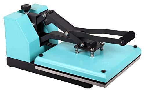 Transferdruck Textil Thermopresse Textildruckpresse T438-TB Farbe:Türkisblau