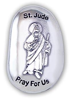 Cathedral Art St Jude Patron Saint Thumb Stone