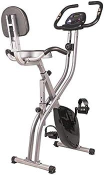 BalanceFrom Folding Magnetic Upright Exercise Bike