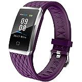 Willful Smartwatch Orologio Fitness Trakcer Donno Uomo Cardiofrequenzimetro da Polso Smart Watch Contapassi Impermeabile IP68 Smartband Bambini Sportivo Bracciale per Android iOS