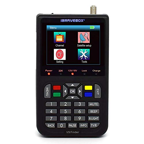 ICQUANZX Satellite Finder Satellite Signal Meter