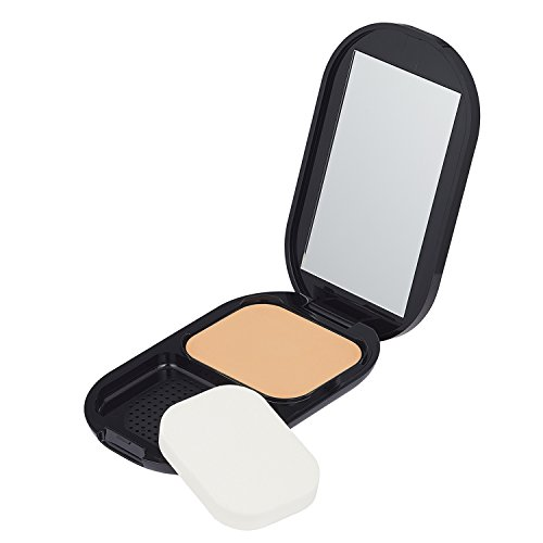 Max Factor Facefinity Compact Make-up Natural 003 – Puder Foundation für ein mattes Finish – 1 x 10 g