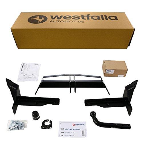 Westfalia starre Anhängerkupplung für Opel Insignia Sports Tourer (BJ 08/09-05/17) im Set mit 13-poligem fahrzeugspezifischen Westfalia Elektrosatz
