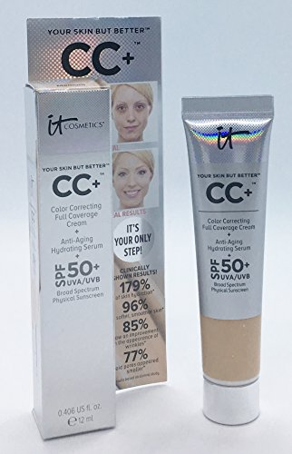 It Cosmetics Your Skin But Better CC+ Cream SPF 50+, 12 ml, Travel Size Medium
