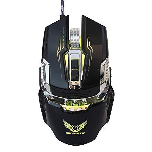 OVINEE ratón Gaming,ratón inalambrico para portatil,ratón Bluetooth,ratón logitech,ratón Gaming inalambrico,ratón Vertical,ratón Gamer,ratón con Cable