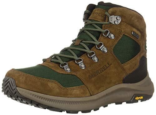 Merrell Men's J16929 Ontario 85 Mid Waterproof Hiking Shoe, Forest - 8 M