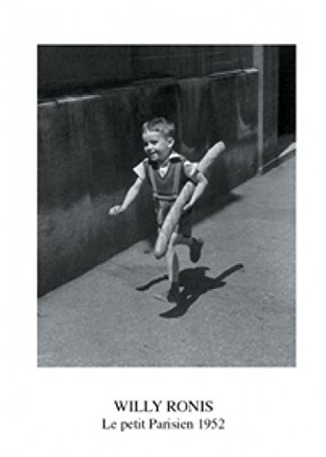 1art1 Kinder - Junge In Paris, Willy Ronis Poster Kunstdruck 70 x 50 cm