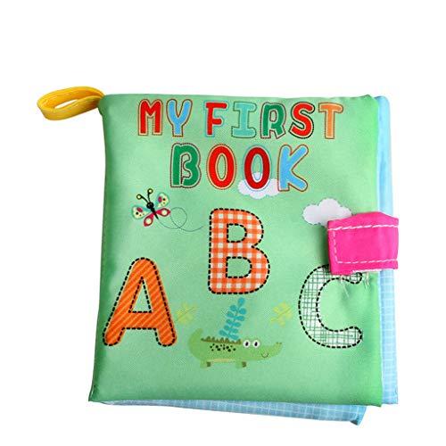 Babynummers Vormen Letters Doek Boekletters Linnenboek, baby Educatief Vroeg Onderwijs Gereedschap Speelgoed Peuters Engels Cognitief Palm Script Gift