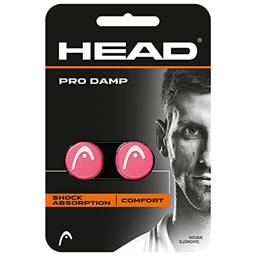 Head Pro Damp Antivibradores, Rosa, Talla Única