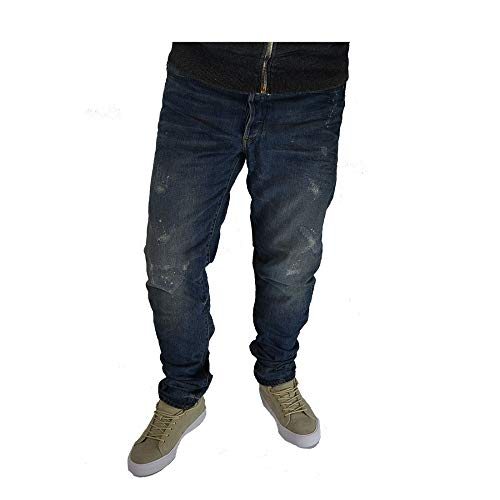 G-STAR RAW herenbroek jeans type C 3D tapered fit used look: L32 W34 staplengte 34