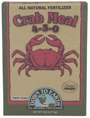 Down To New Shipping Free Earth 07844 5 Lbs Natural 4-3-0 Challenge the lowest price of Japan ☆ All Crab Fertilizer Meal