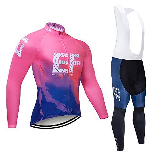 TOPBIKEB Vêtements de Cyclisme pour Femmes avec Pantalon à Bretelles, Maillot de Cyclisme Respirant et Pantalon à Bretelles pour Femmes