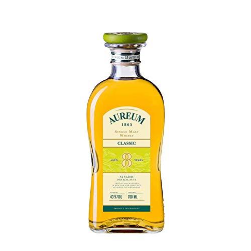 Ziegler AUREUM 1865 Classic Single Malt Whisky - 8 Jahre (0,7 l mit Geschenkverpackung)