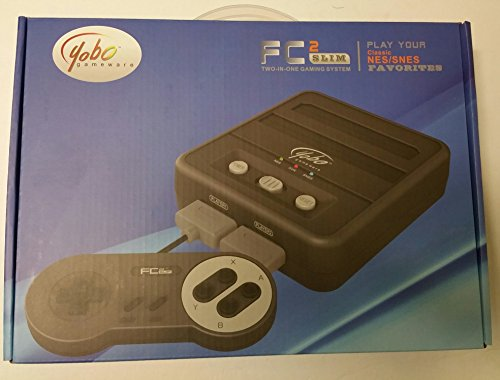 Yobo FC 2 Slim Game Top Loader Console System for NES & SNES & Super Famicom Games ( BLACK)  …