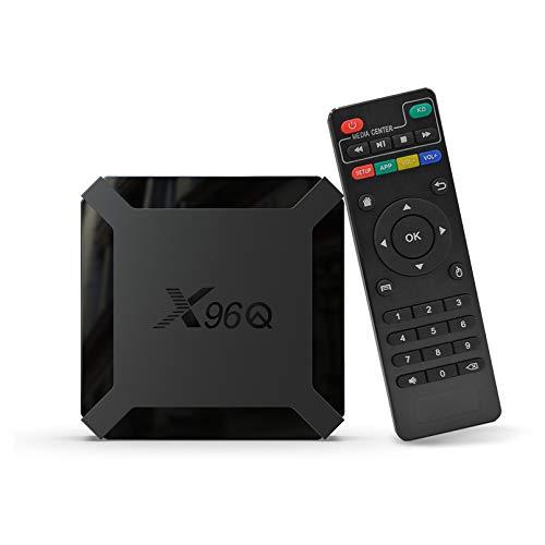 Puersit X96Q Smart TV Box Android 10.0 Allwinner H313 Quad Core 4K 2 G + 16G dispositivi per lo streaming Set Top Box Wi-Fi Media Player H.265 HEVC 10bit HDR