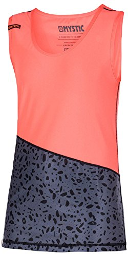 Mystic Watersport - Surf KiteSurf & Windsurfen Womens Diva Tank Top Quick Dry Coral ademende