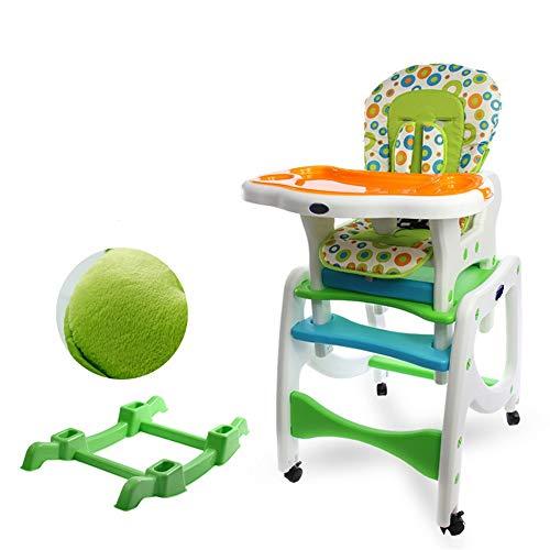 Liuxiaomiao Baby Kinderstoel Tafel En Stoel Set Baby Kunststof Tafel Hoogte Verstelbaar Voor eettafel