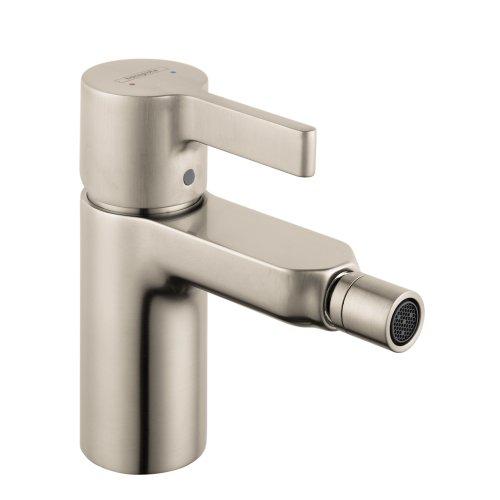 hansgrohe 31261821 Metris S 5-inch Tall 1 Bidet Faucet in Brushed Nickel