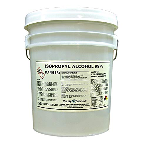 Isopropyl Alcohol Grade 99% Anhydrous (IPA)-5 Gallon Pail