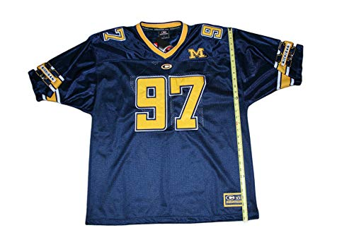 blue and gold football jersey - 1