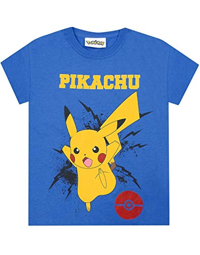 Pokemon Pikachu Bolt Boy's T-Shirt (9-10 Years)