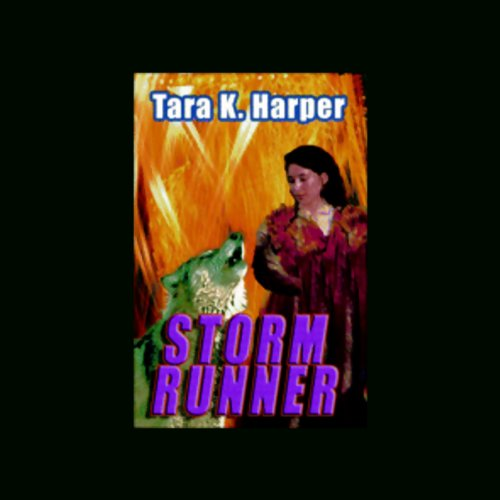 Storm Runner audiobook cover art