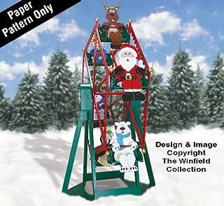 Christmas Ferris Wheel and Riders Plan Set
